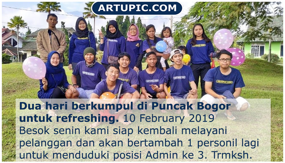 Artupic Goes to Puncak