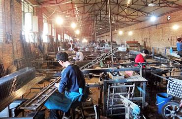 Pabrik pakan kelinci