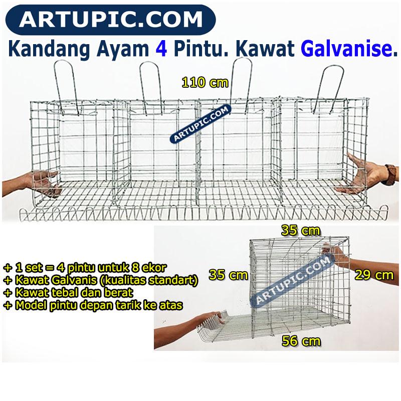 Gambar Ukuran Kandang Ayam Petelur - AR Production